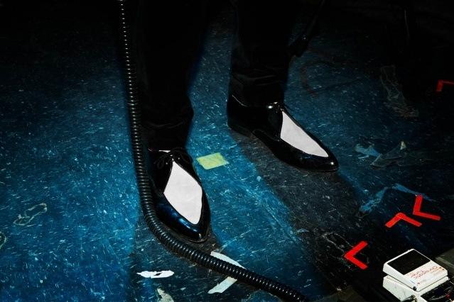 Winklepickers worn by Murat Aktürk from DADDY LONG LEGS. Photography by Alexander Thompson for Ponyboy magazine.