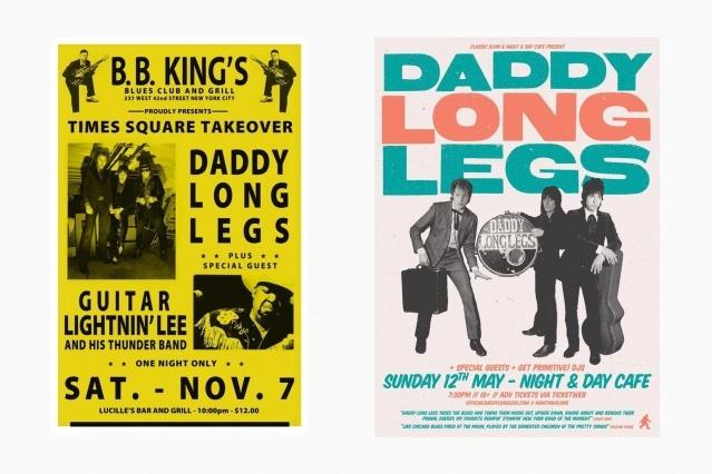 DADDY LONG LEGS flyers. Ponyboy magazine New York.