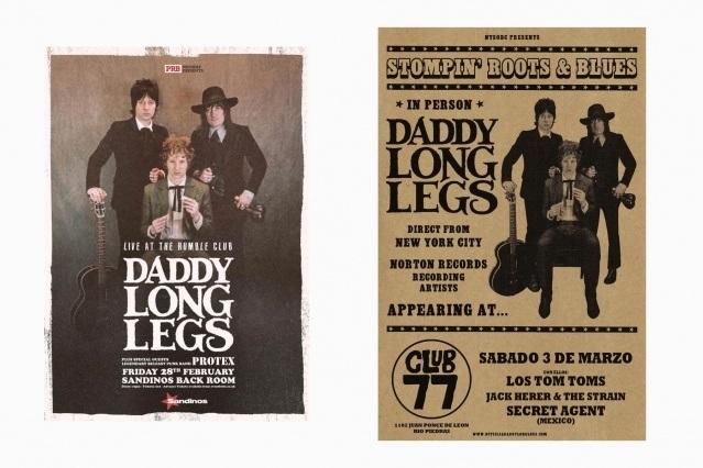 DADDY LONG LEGS flyers. Ponyboy magazine.