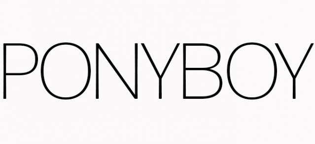 Ponyboy Magazine, fashion, music and culture.