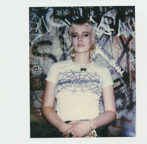Polaroid of singer Syd Suuux by Alexander Thompson. Ponyboy magazine.