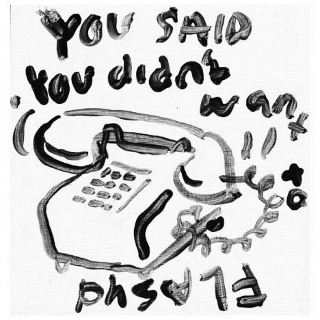 """You Said"" artwork for Flasyd. Ponyboy magazine."