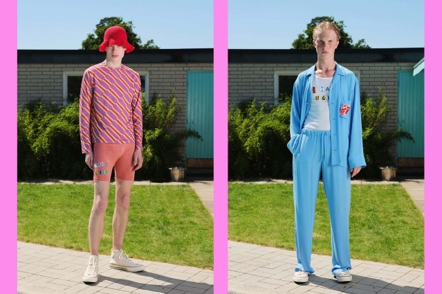 The Lazoschmidl Spring/Summer 2021 menswear collection photographed by Florian Dezfoulian. Ponyboy magazine.
