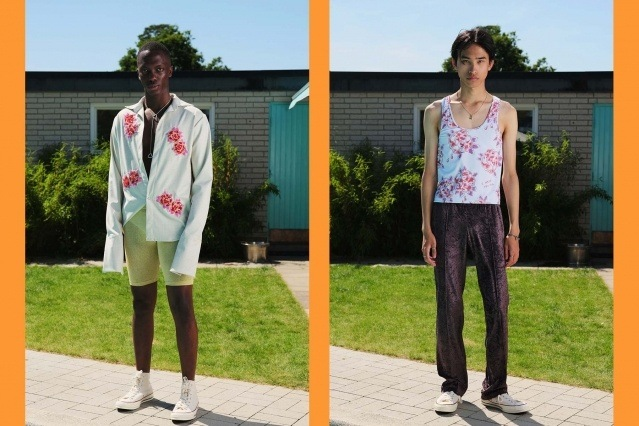 The Lazoschmidl menswear collection for Spring/Summer 2021 photographed by Florian Dezfoulian. Ponyboy magazine.