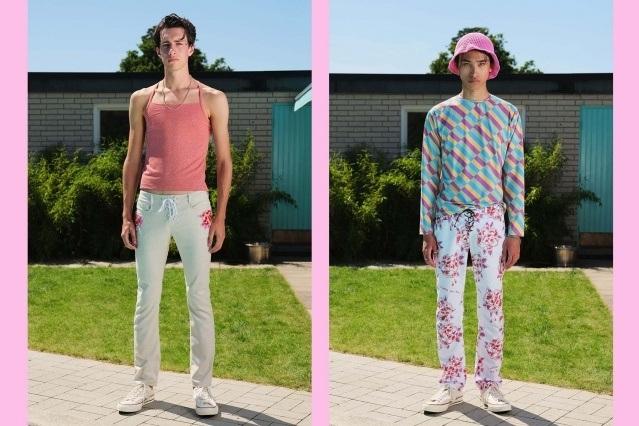 Lazoschmidl menswear collection S/S 2021 photographed by Florian Dezfoulian. Ponyboy magazine.