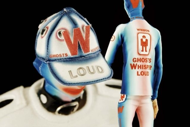 """""""The Ghost"""" close-up look from Walter Van Beirendonck Spring/Summer 2021 collection, """"Mirror Ghosts Whisper Loud"""". Ponyboy magazine."""