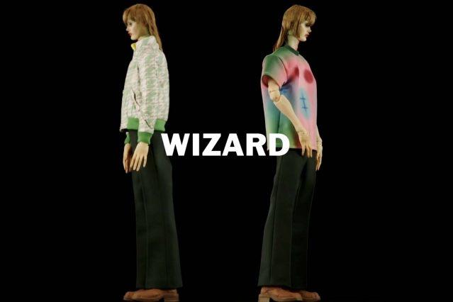 """Wizard"" look from Walter Van Beirendonck Spring/Summer 2021 collection, ""Mirror Ghosts Whisper Loud"". Ponyboy magazine."