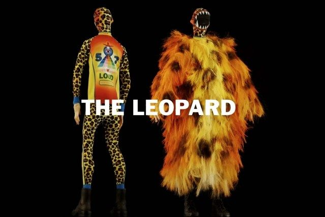 """""""The Leopard"""" look from Walter Van Beirendonck Spring/Summer 2021 collection, """"Mirror Ghosts Whisper Loud"""". Ponyboy magazine."""