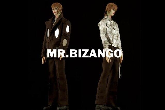 """Mr. Bizango"" look from Walter Van Beirendonck Spring/Summer 2021 collection, ""Mirror Ghosts Whisper Loud"". Ponyboy magazine."