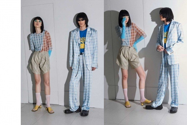Dirty Pineapple Spring/Summer 2021 collection. Look #45. Ponyboy magazine.