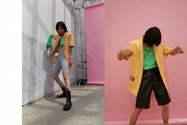 Dirty Pineapple Spring/Summer 2021 collection. Look #12 & #14. Ponyboy magazine.