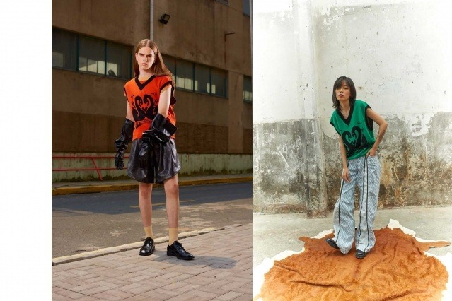 Dirty Pineapple Spring/Summer 2021 collection. Look #23 & #15. Ponyboy magazine.