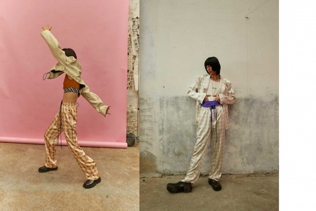 Dirty Pineapple Spring/Summer 2021 collection. Look #20 & #21. Ponyboy magazine.