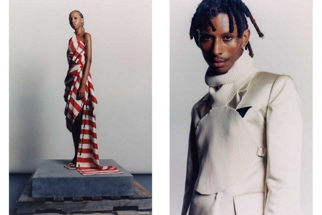 LRS collection by Raul Solis for Spring/Summer 2021 - #9 & #10. Ponyboy magazine.
