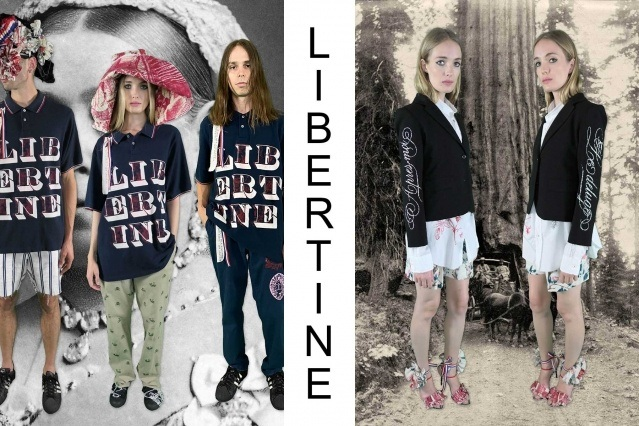 """Libertine Spring/Summer 2021 - """"Ghosts From Our Past"""". Look #21 & #22. Ponyboy magazine."""