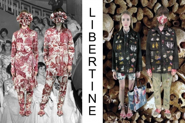 "Libertine Spring/Summer 2021 - ""Ghosts From Our Past"". Look #27 & #28. Ponyboy magazine."