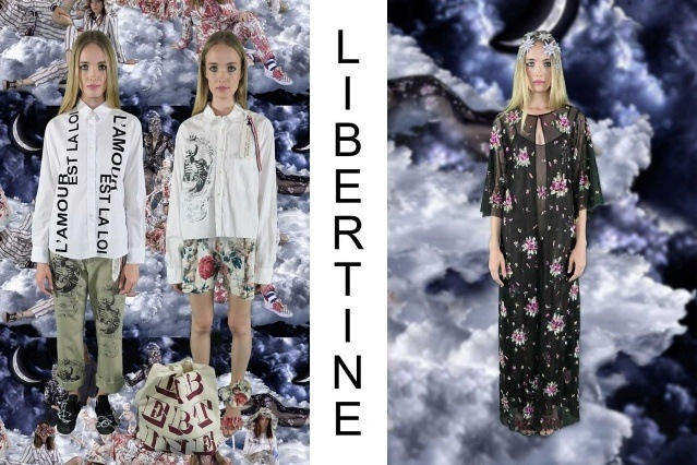 "Libertine Spring/Summer 2021 - ""Ghosts From Our Past"". Look #29 & #30. Ponyboy magazine."