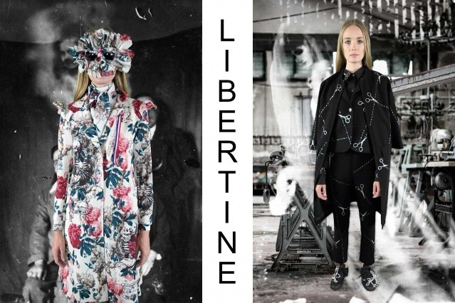 """Libertine Spring/Summer 2021 - """"Ghosts From Our Past"""". Look #6 & #7. Ponyboy magazine."""