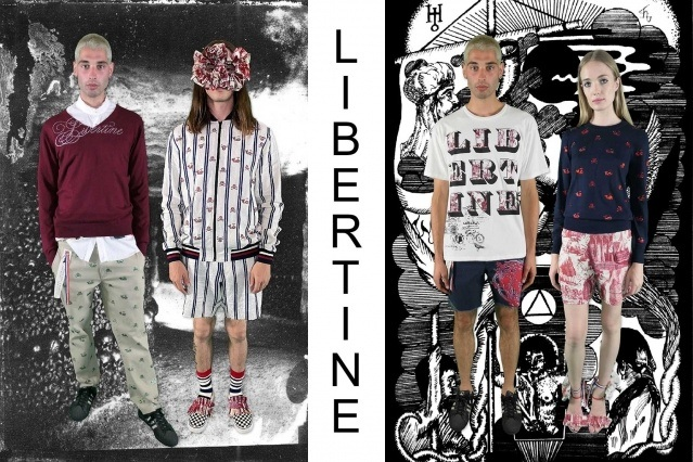 "Libertine Spring/Summer 2021 - ""Ghosts From Our Past"". Look #9 & #10. Ponyboy magazine."