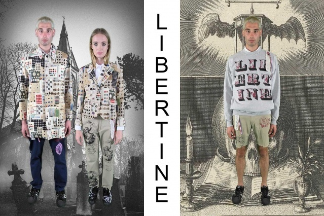 """Libertine Spring/Summer 2021 - """"Ghosts From Our Past"""". Look #11 & #12. Ponyboy magazine."""