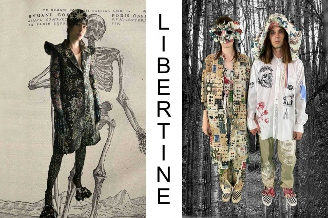"""Libertine Spring/Summer 2021 - """"Ghosts From Our Past"""". Look #13 & #14. Ponyboy magazine."""