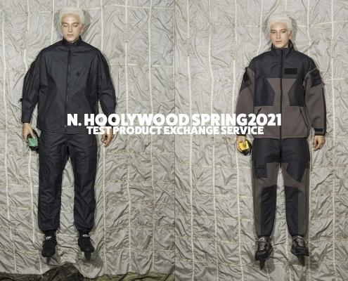 N. Hoolywood Spring 2021 - Test Product Exchange Service. New York Fashion Week. Ponyboy magazine.