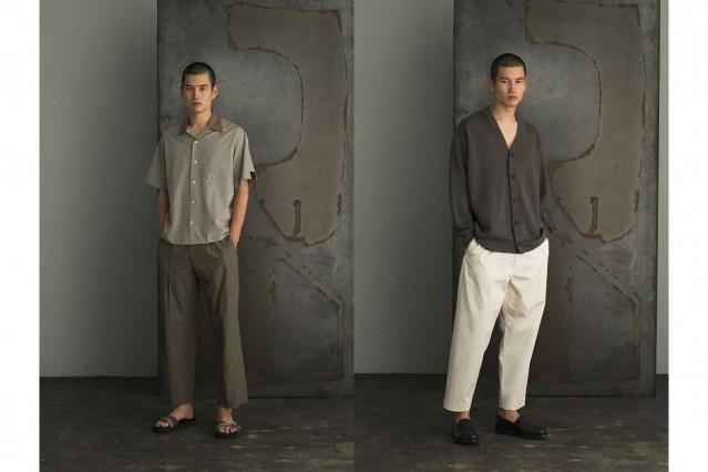 N. Hoolywood Spring 2021 collection - Compile. Look #8 & #9. Ponyboy magazine.
