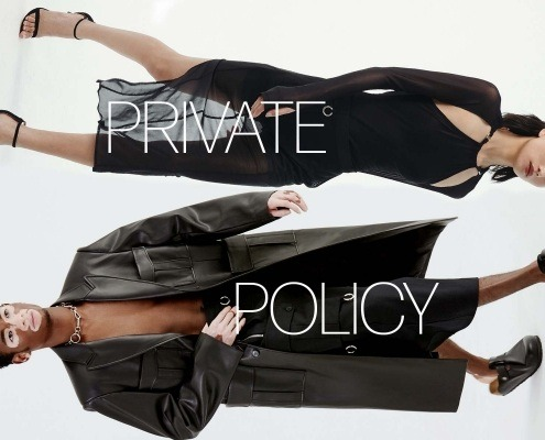Private Policy for Spring Summer 2021 opener. Ponyboy magazine.
