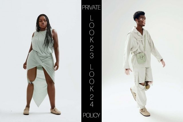 Private Policy for Spring Summer 2021 - Look 23 & 24. Ponyboy magazine.