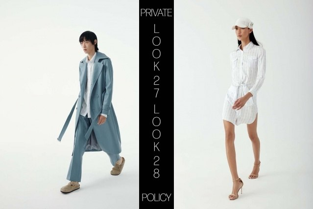 Private Policy for Spring Summer 2021 - Look 27 & 28. Ponyboy magazine.