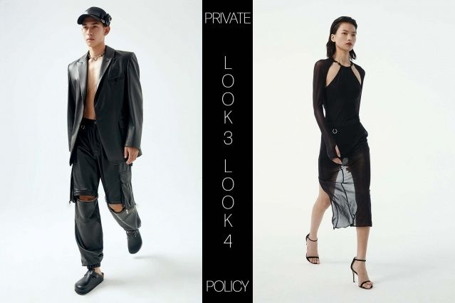 Private Policy for Spring Summer 2021 - Look 3 & 4. Ponyboy magazine.
