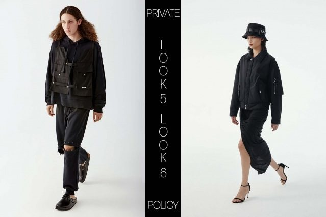 Private Policy for Spring Summer 2021 - Look 5 & 6. Ponyboy magazine.