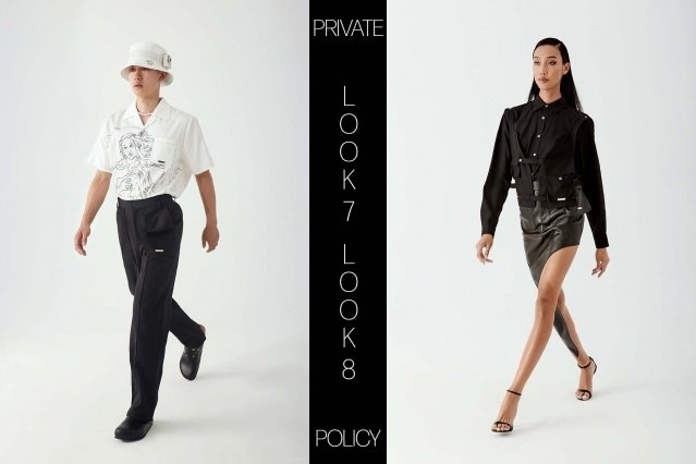 Private Policy for Spring Summer 2021 - Look 7 & 8. Ponyboy magazine.