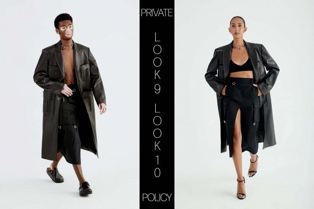 Private Policy for Spring Summer 2021 - Look 9 & 10. Ponyboy magazine.