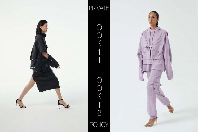 Private Policy for Spring Summer 2021 - Look 11 & 12. Ponyboy magazine.