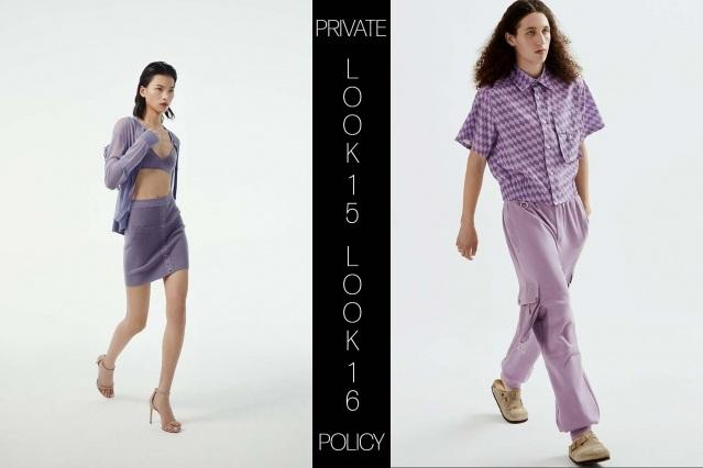 Private Policy for Spring Summer 2021 - Look 15 & 16. Ponyboy magazine.