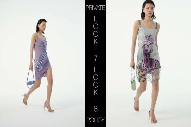 Private Policy for Spring Summer 2021 - Look 17 & 18. Ponyboy magazine.