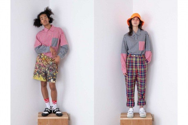 Wataru Tominaga collection for Spring/Summer 2021 - #21 & #22. Ponyboy magazine.