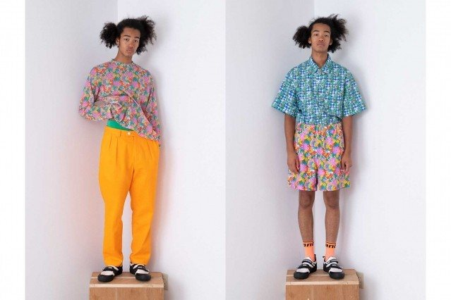 Wataru Tominaga collection for Spring/Summer 2021 - #5 & #6. Ponyboy magazine.