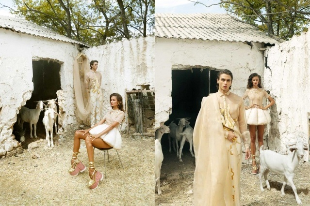 Looks from the Leandro Cano Spring/Summer 2021 collection. Ponyboy magazine NY.