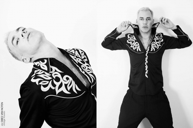 Musician/comedian John Roberts for Ponyboy magazine. Photography by Alexander Thompson.