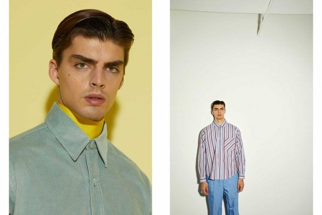 AKNVAS menswear for Fall 2021 - Looks #9 & 10. Ponyboy magazine.
