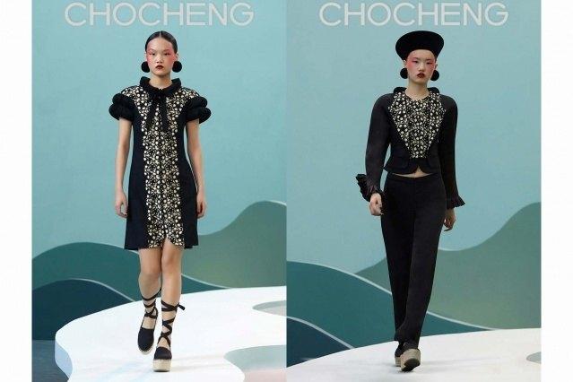 Chocheng AW21 by designer Cho Cho Cheng - Looks #25 & 26. Ponyboy magazine.