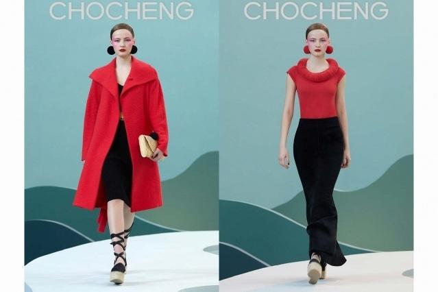 Chocheng AW21 by designer Cho Cho Cheng - Looks #3 & 4. Ponyboy magazine.