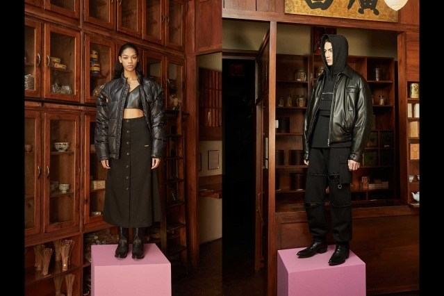 Private Policy Fall Winter 2021 -Looks 23 & 24. Ponyboy magazine.