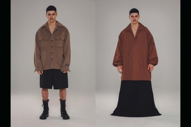 Willy Chavarria Autumn/Winter 2021 - Looks #9 & 10. Ponyboy magazine.