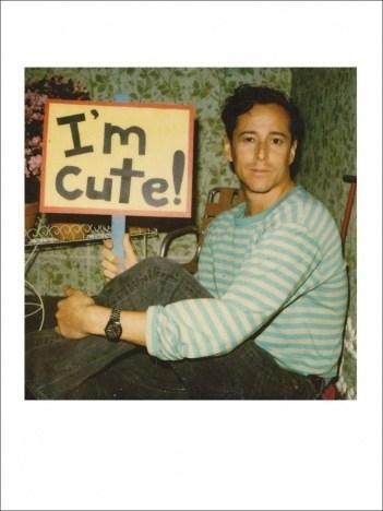Photo of American video artist Tom Rubnitz, courtesy of Barbara Lipp.