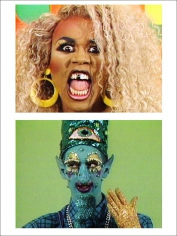 Rupaul & Sister Dimension - Pickle Surprise, Tom Rubnitz, 1989 Courtesy Video Data Bank.