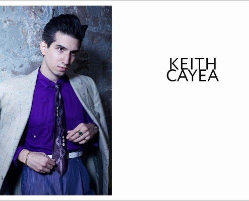 New York City barber/musician Keith Cayea for Ponyboy, photographed by Alexander Thompson - opening spread.