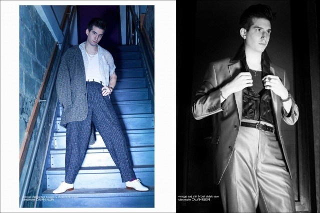 New York City barber/musician Keith Cayea for Ponyboy, photographed by Alexander Thompson - spread #4.